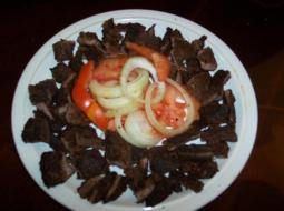 African Delecacy Suya ready to eat